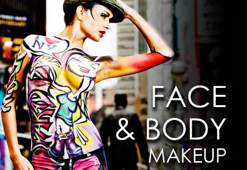 梅伦 Face and Body Painting Makeup
