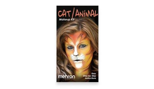 Cat or Animal  Makeup Kit instructions