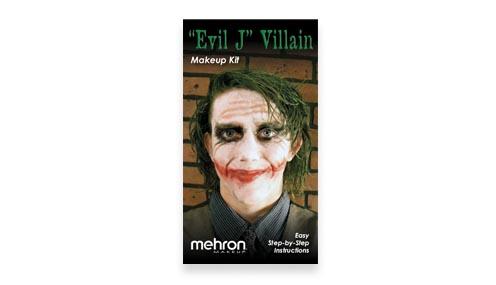 Joker Makeup Kit instructions