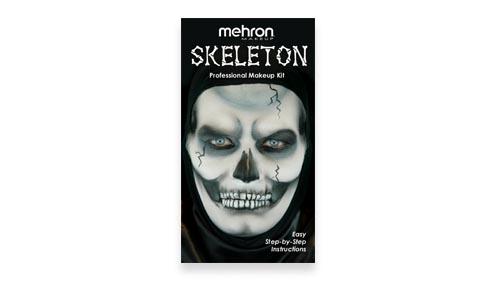 Skeleton Makeup Kit instructions