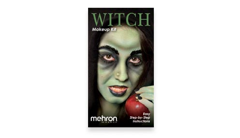 Witch Makeup Kit instructions