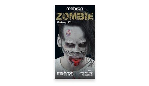 Zombie Makeup Kit instructions