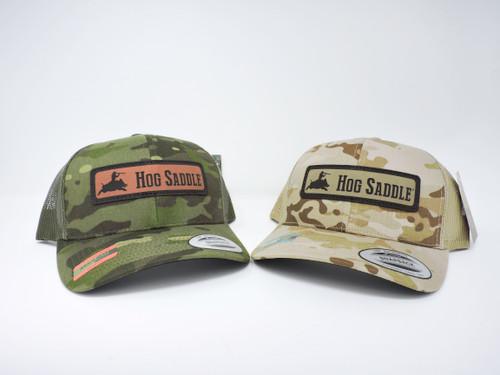 HOG Banner Camo Snap Back Cap