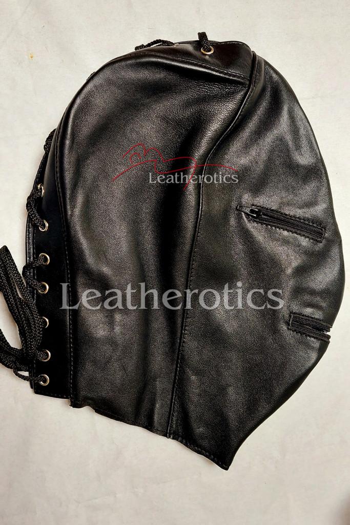 Leather mask MO 3