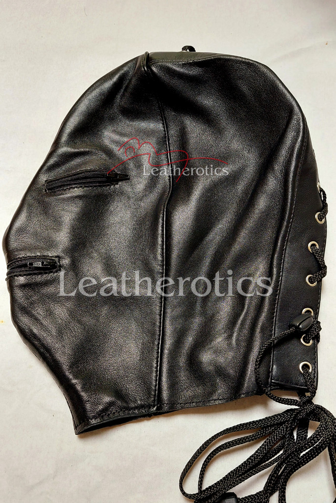 Leather mask MO 2