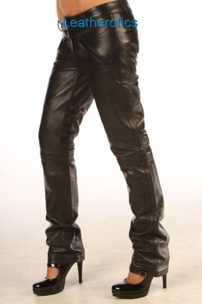 Nappa Leather trousers pic 3