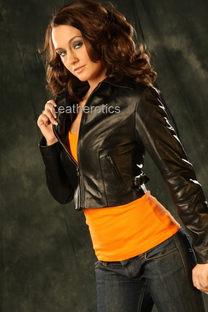 Leather Fully Lined Jacket (JC65)