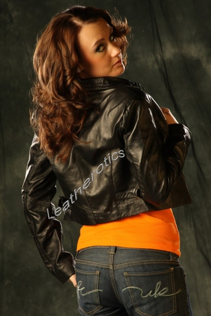 Leather Fully Lined Jacket (JC65) pic 2