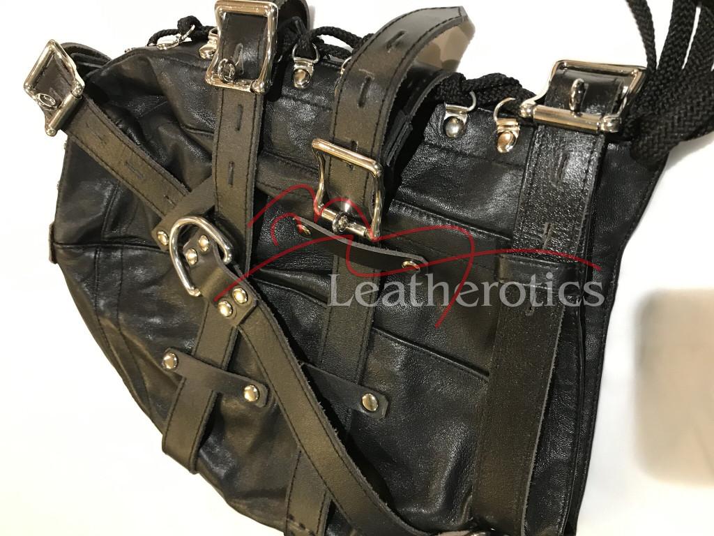 Leather Gimp Mask M9 3