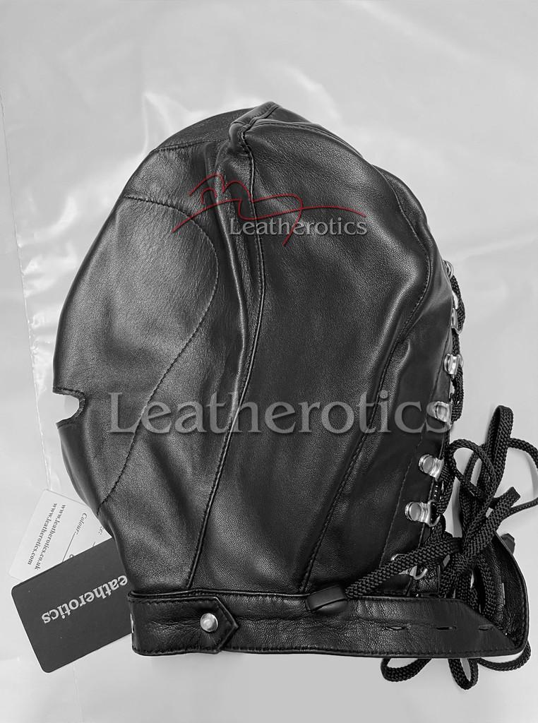 M4 leather hood mask 1