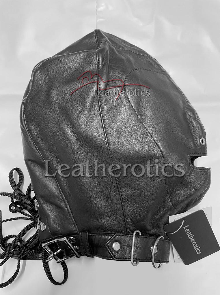 M4 leather hood mask 2