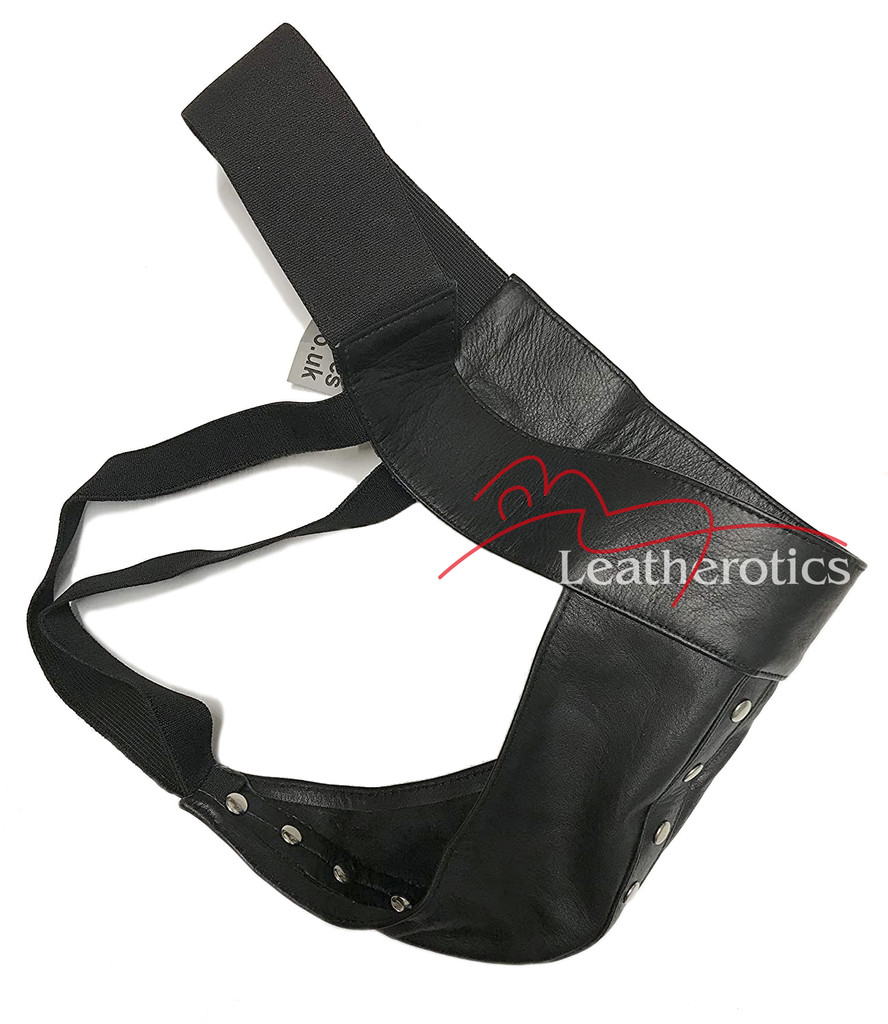 mens's leather jockstrap
