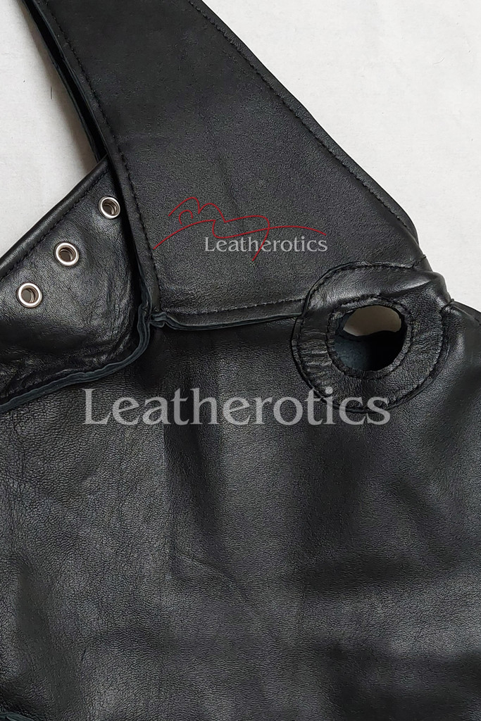 doctor plague leather mask 3