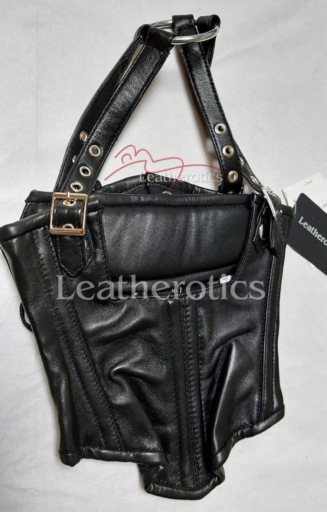 Leather Neck Corset 1