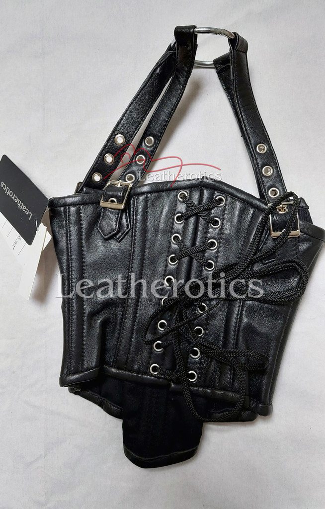 Leather Neck Corset 2