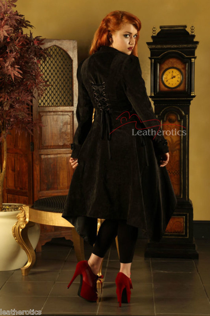 Ladies Coat Gothic Vintage Jacket image 3