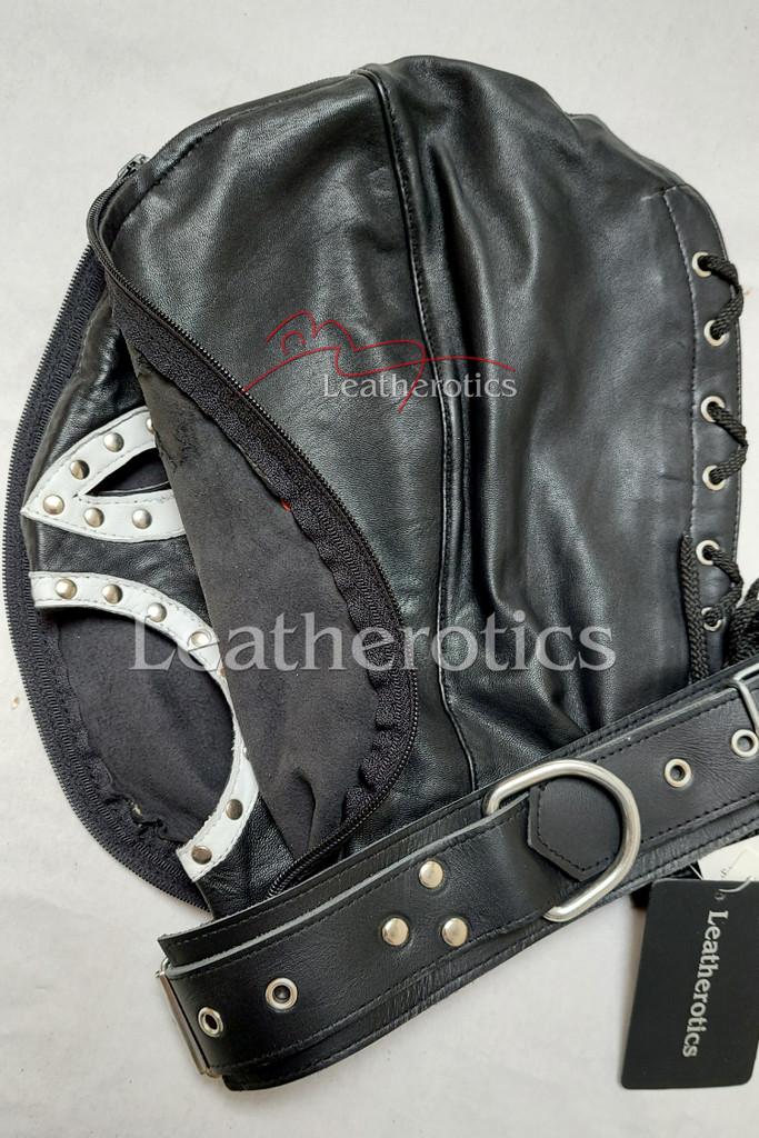leather hood mask db 3