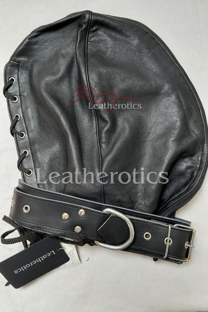 leather hood mask db 2