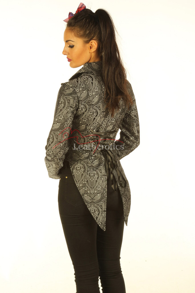 Womens cotton tailcoat
