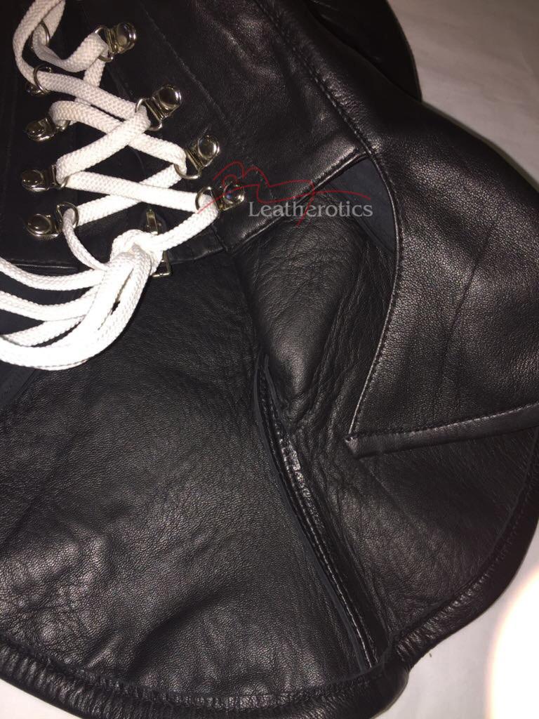 Full Grain Leatherotics Mask Hood bondage bdsm  image 4