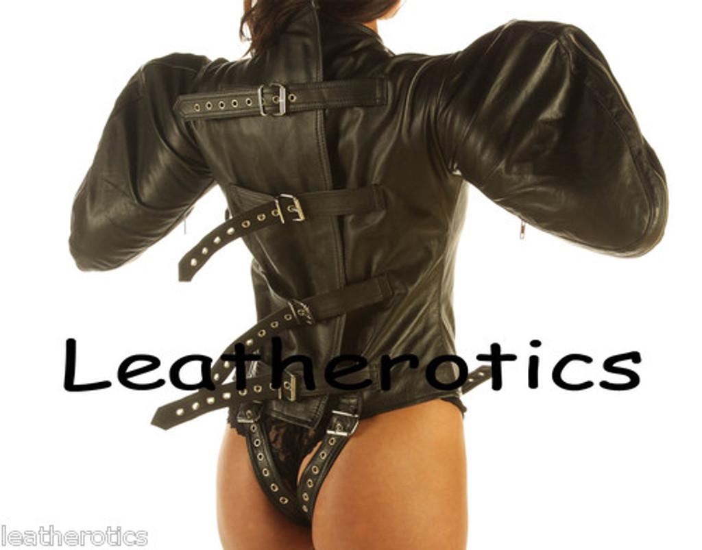 Black leather Bodybag Arm Wing Binder
