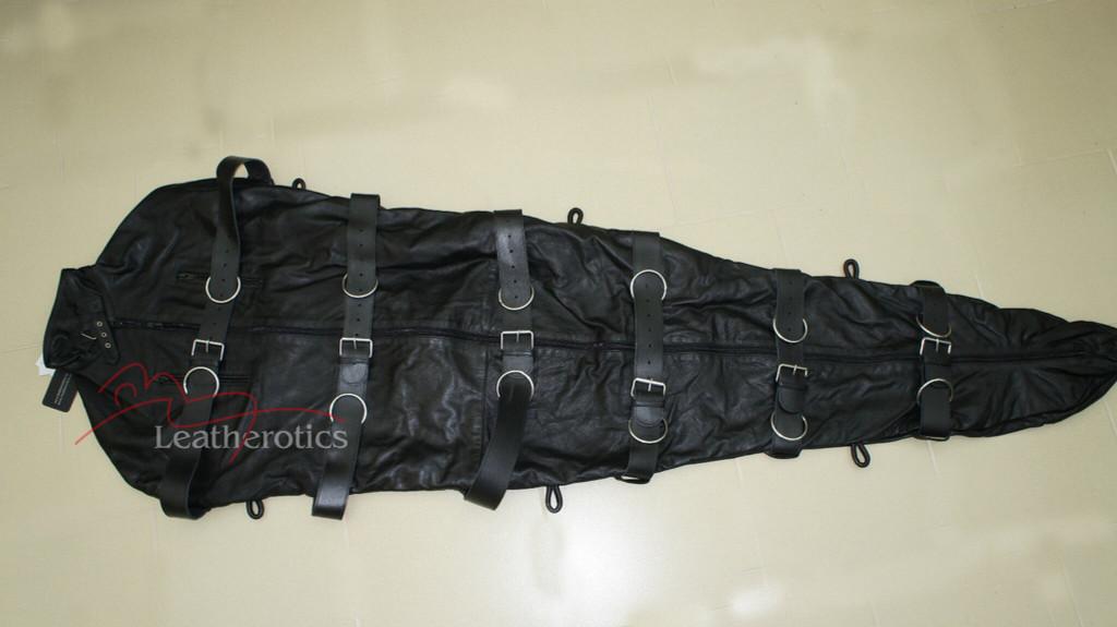 Leather Binder Bodybag Lock Suspention pic 1