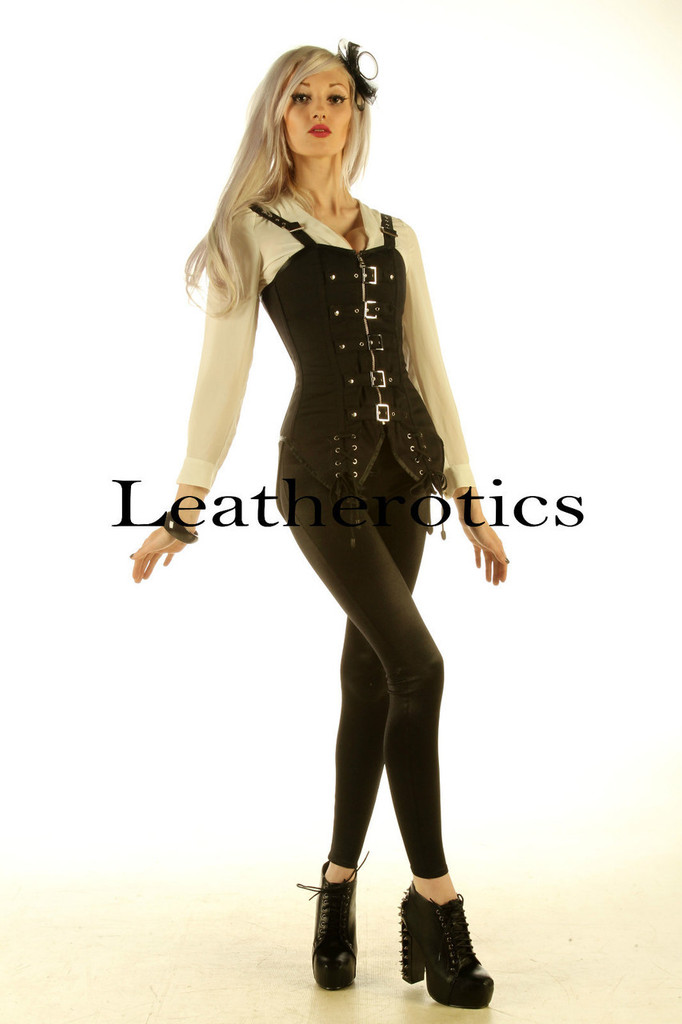 Strapped Halloween Witch Corset  image 1