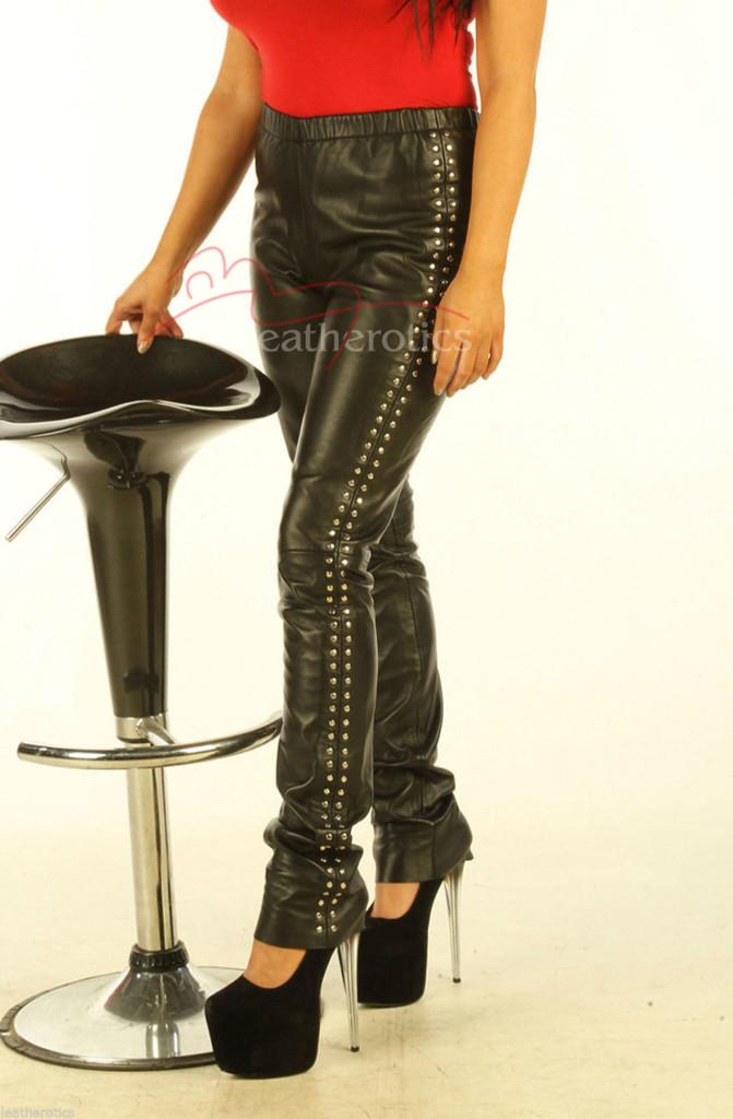 Leather skinny Leggings  pic 2