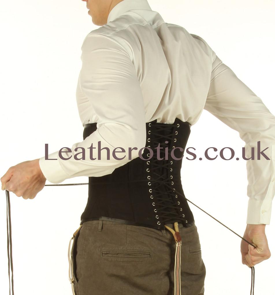tight lacing mens corset
