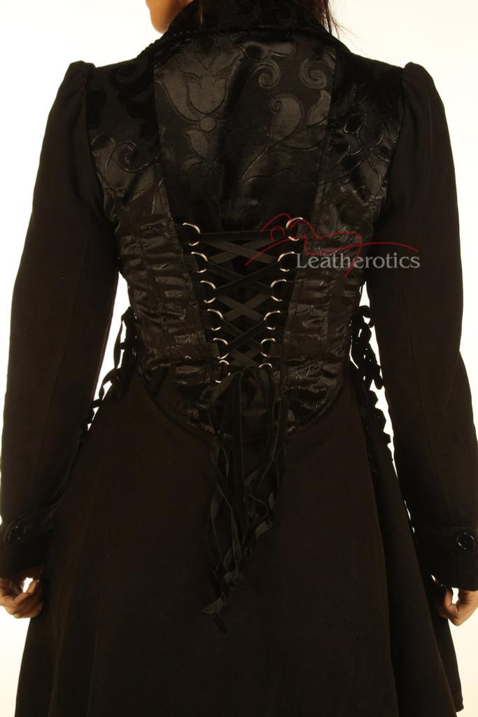 Victorian Steampunk Ladies Coat pic 3