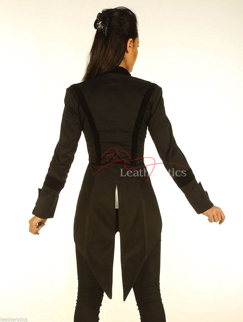 Ladies Tailcoat Gothic Vintage Costume pic 1