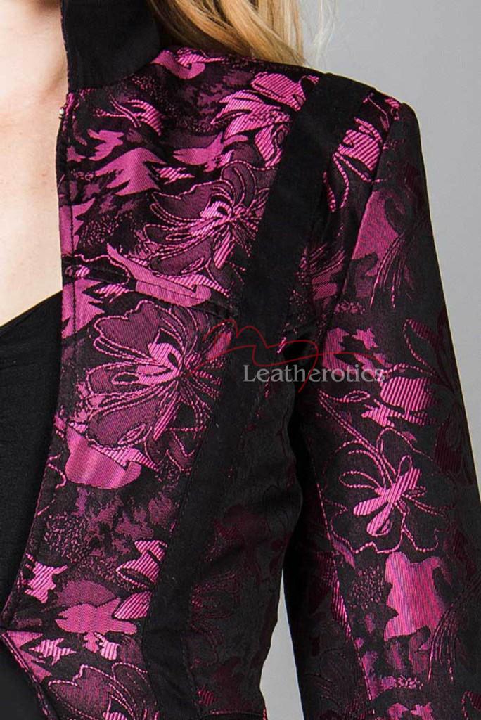 Ladies Tailcoat  Vintage Costume Victorian Steampunk Jacket WTC2 Purple