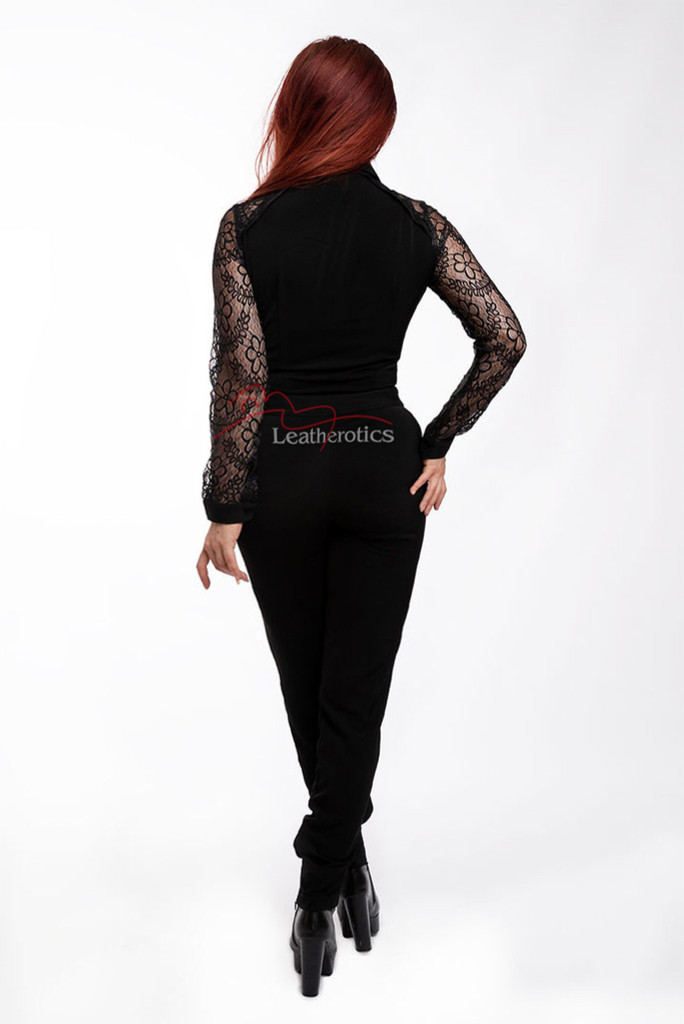 Elegant Feminine Jumpsuit/Catsuit All In One - Back
