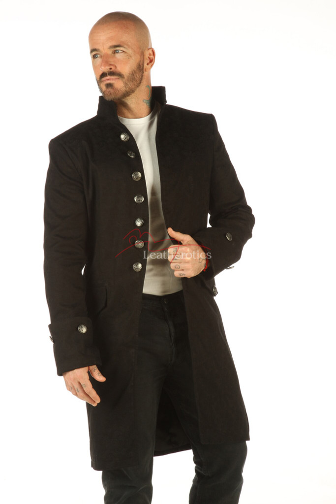 Mens Brocade Jacket Top