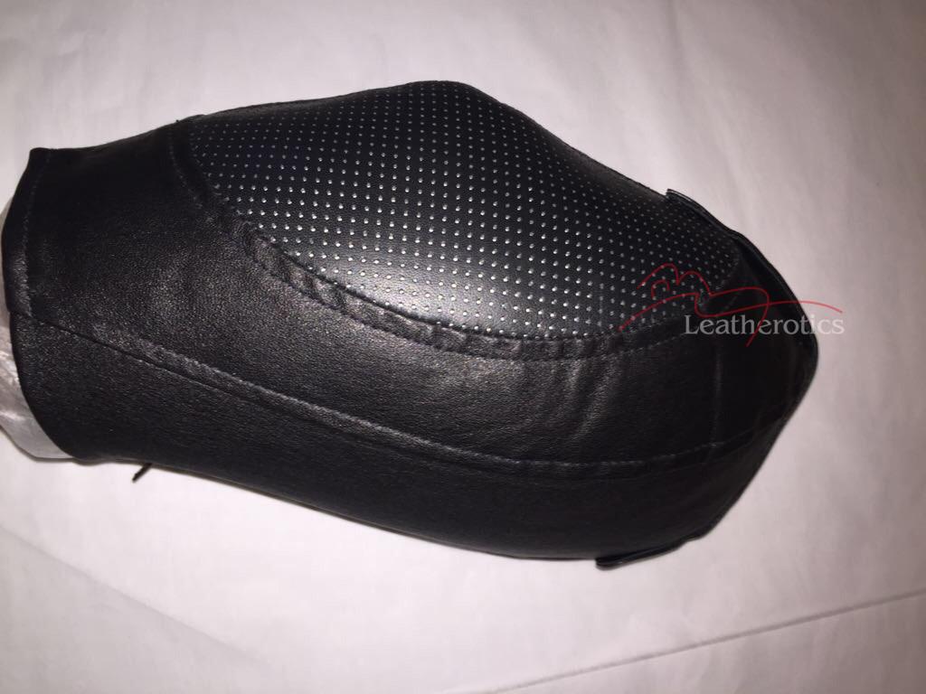 Net Leather bondage mask