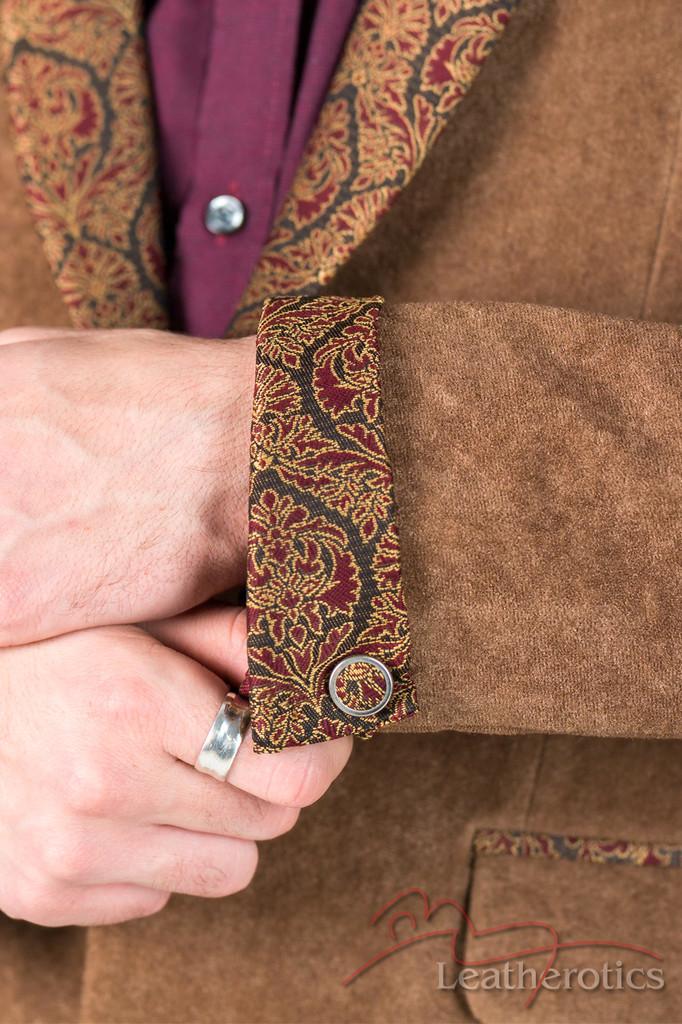 Brown Velvet  Blazer - details