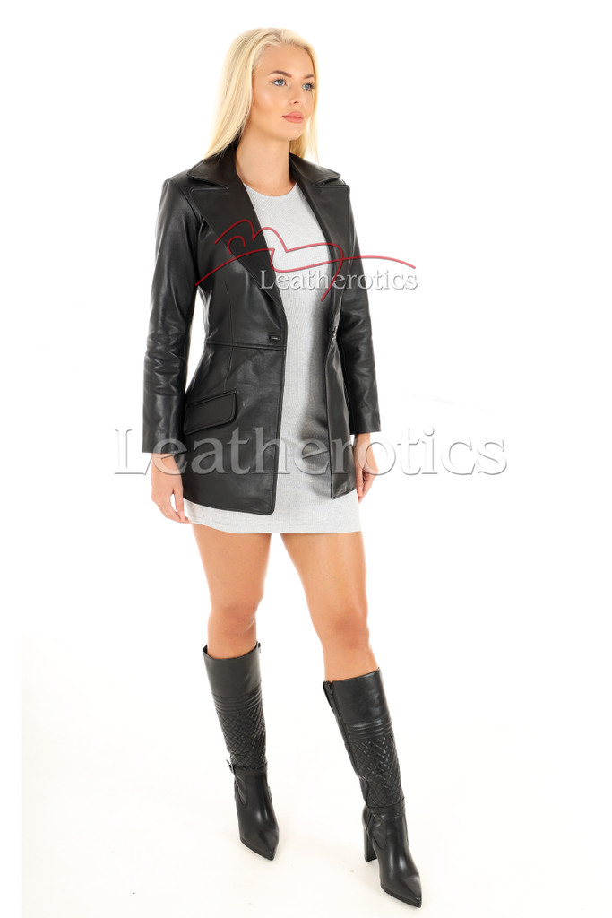 Women's Leather Tunic 2