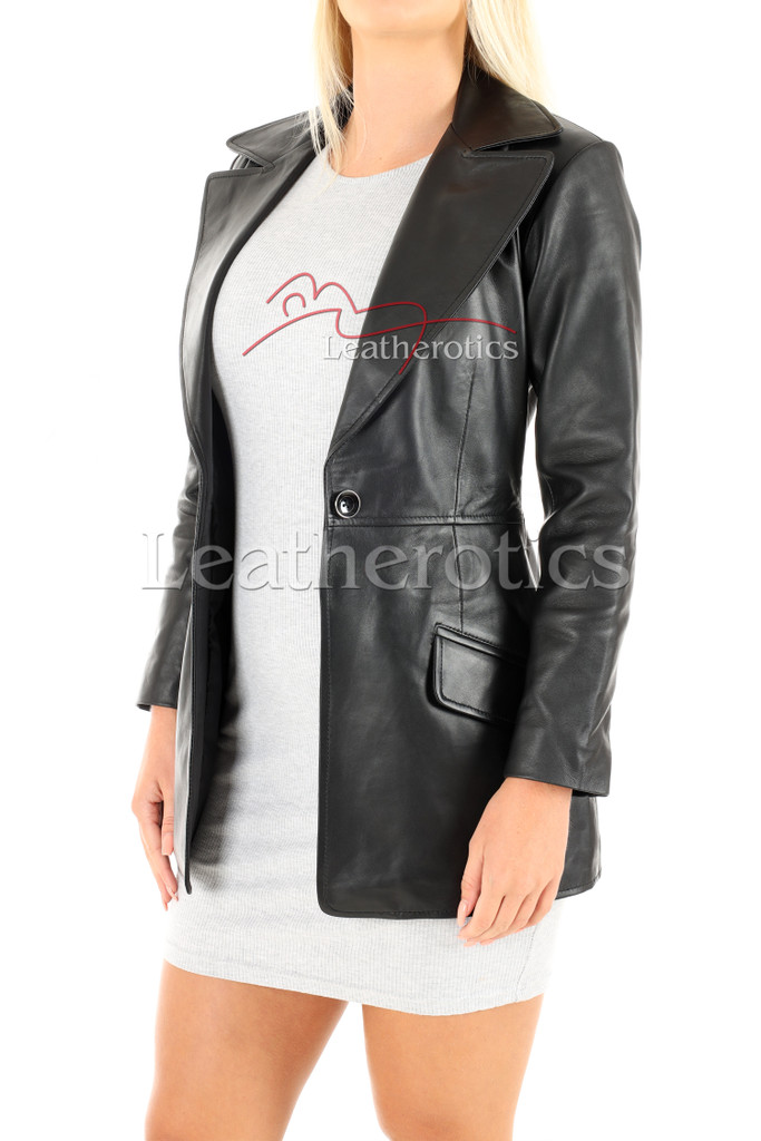 Women's Leather Tunic 3