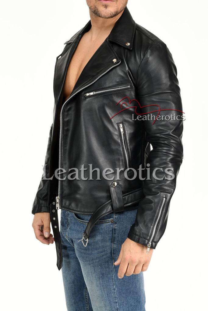 Men's Leather Jacket - 6