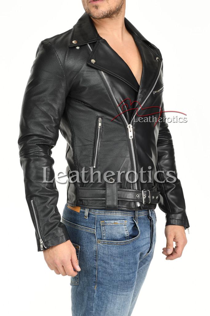 Men's Leather Jacket - 4