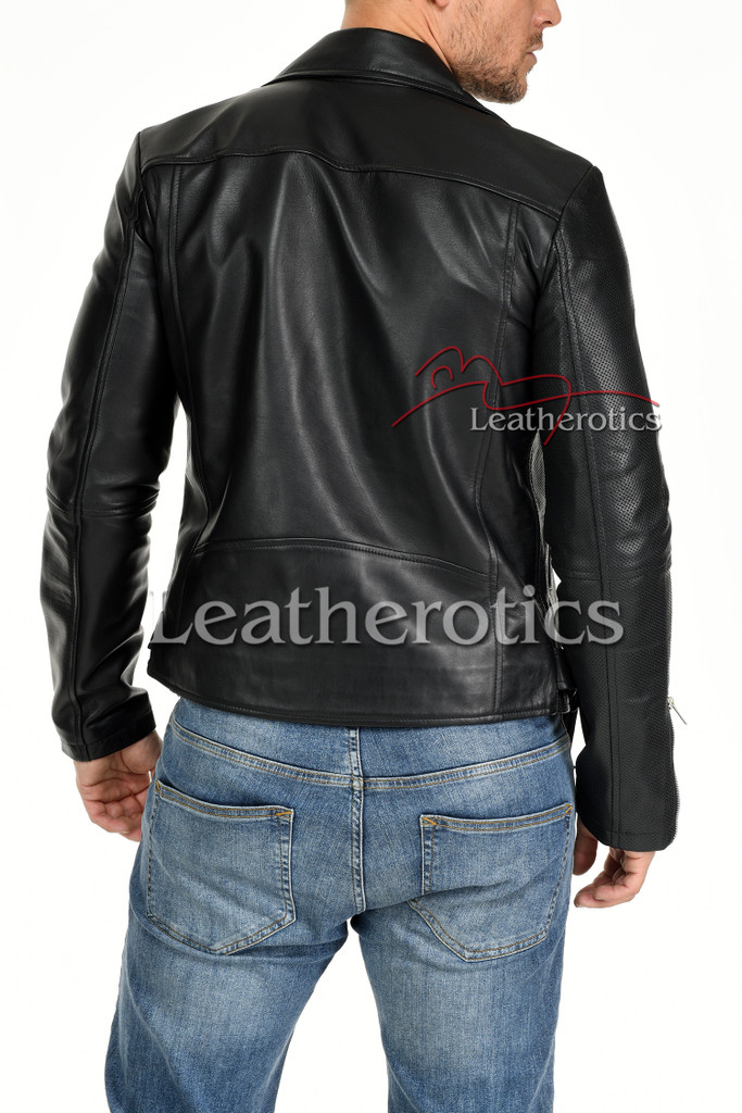 Men's Leather Jacket - 8