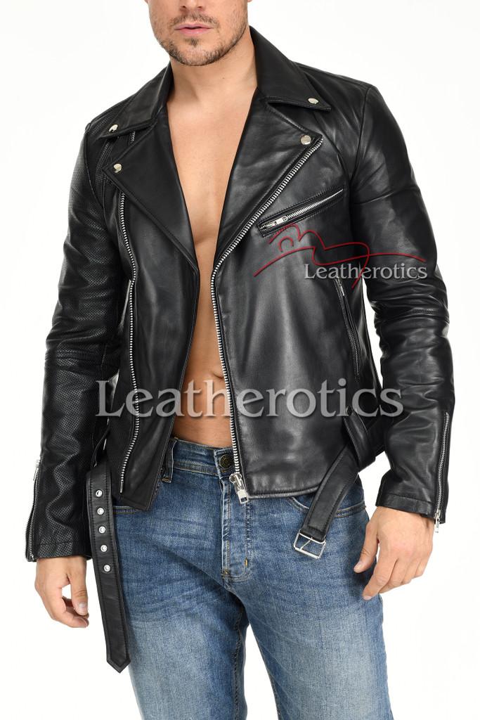 Men's Leather Jacket - 5
