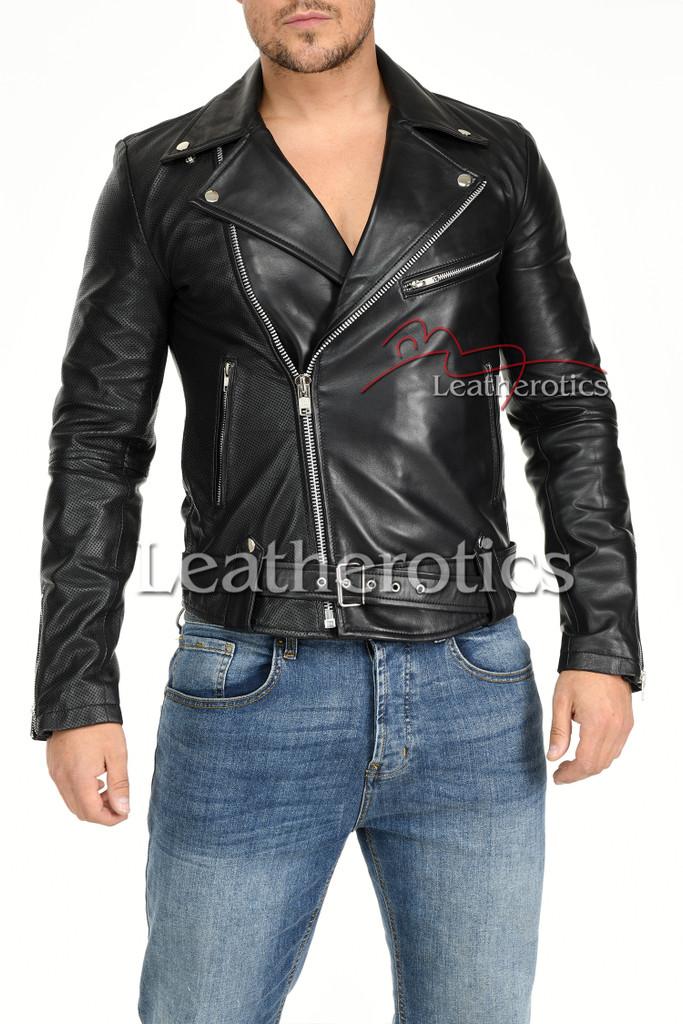 Men's Leather Jacket - 10