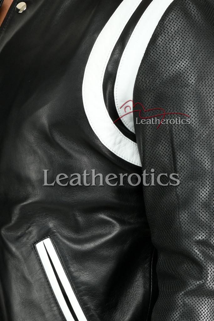 Men's Leather Jacket 2 - details