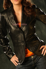leather jacket corset JC4