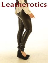 Stretch Natural Leather Leggings STLEGG pic 1