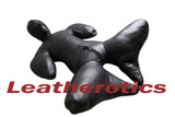 Leather Bodybag Bondage B-Suit with Mask Restraint Gimp suit pic 11