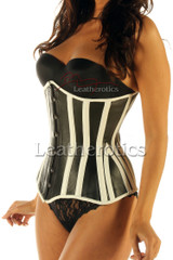 Leather corset 1836 - front