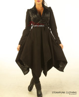 Victorian Steampunk Ladies Coat