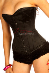 silk over bust corset pic 1